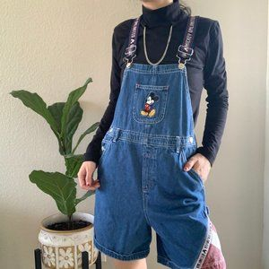 Vintage Disney Mickey Mouse Overalls